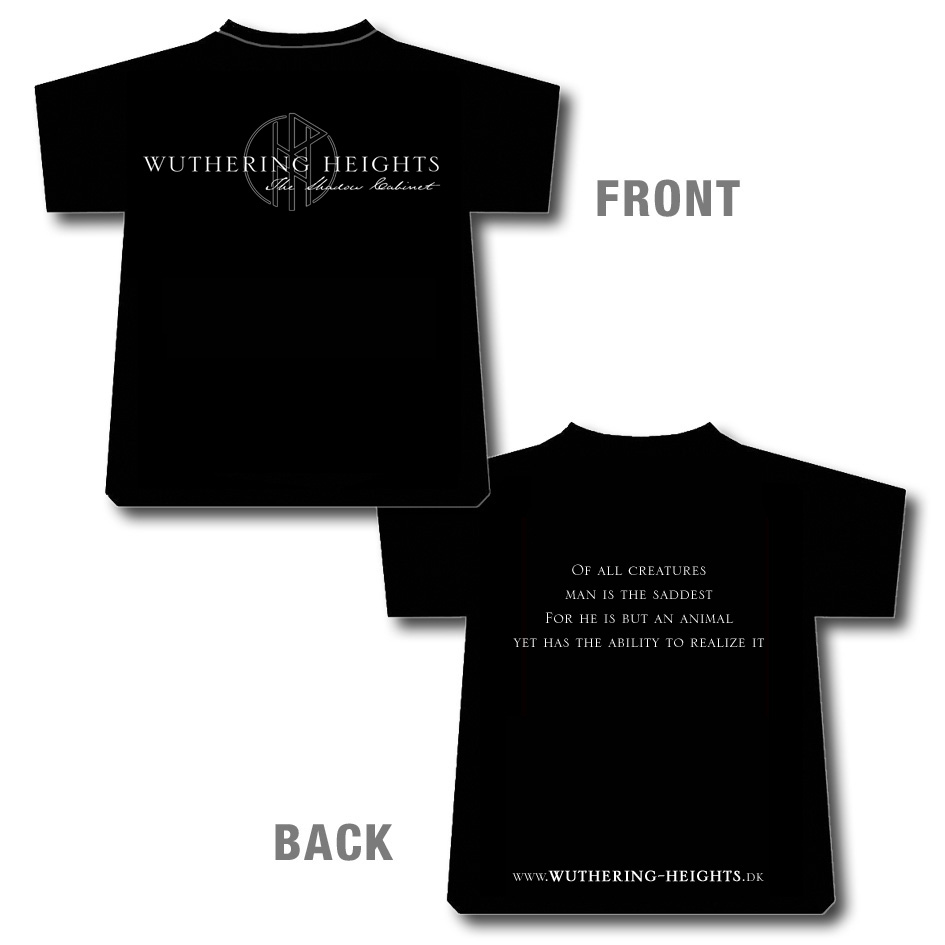 Wuthering Heights – The Shadow Cabinet, black/white